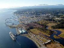 Campbell River Ariel taken March 2005